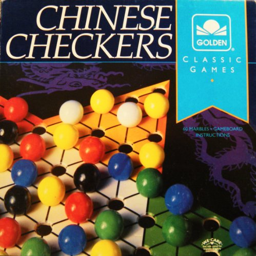 Chinese Checkers ~ Golden Classic Games ~ 4717-6