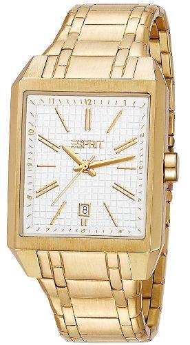 Esprit Damen-Armbanduhr Monterey Gold Analog Quarz Edelstahl ES104071005