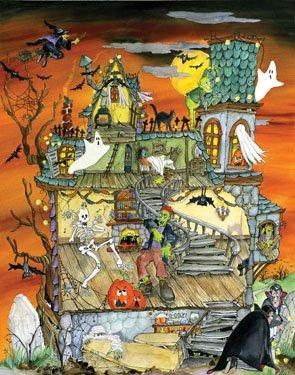 Night Before Halloween Countdown Calendar - 1