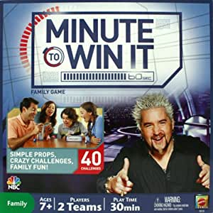 Minute To Win It Family Game