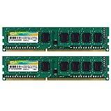 シリコンパワー デスクトップPC用メモリ 240Pin DDR3 1600 PC3-12800 4GB×2枚 永久保証 SP008GBLTU160N22 ランキングお取り寄せ