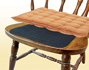 Non slip chair pads set of 4 dining room for Non traditional dining room chairs