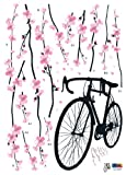 Easy Instant Decoration Wall Sticker Decal - Perfect Sakura Blossoms