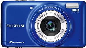 Fujifilm FinePix T400 Digital Camera (Blue)