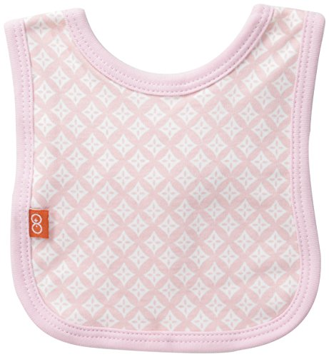 Magnificent Baby Baby-Girls Newborn Diamond 2-Ply Reversible Bib, Girl's Diamonds, One Size