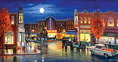 SunsOut Halloween in The City 500 Piece Jigsaw Puzzle