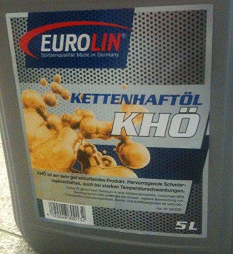 Olio adesivo catena Eurolin (100) 5 litri PE incidur