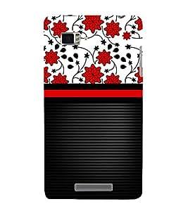 Lovely Flowers Girl Design 3D Hard Polycarbonate Designer Back Case Cover for Lenovo Vibe Z K910