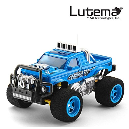 Lutema Blaze Truck 4CH Remote Control Truck, Blue (Remote Trucks compare prices)