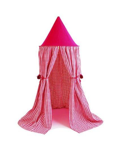Win Green – Karomuster – Hängezelt – Rot – Hanging Tent – Red Gingham online bestellen