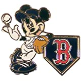 MLB Disney Pins - Mickey Leaning on Home Base