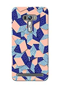 Sowing Happiness Printed Back Cover For Asus Zenfone 2 Laser 550 KL