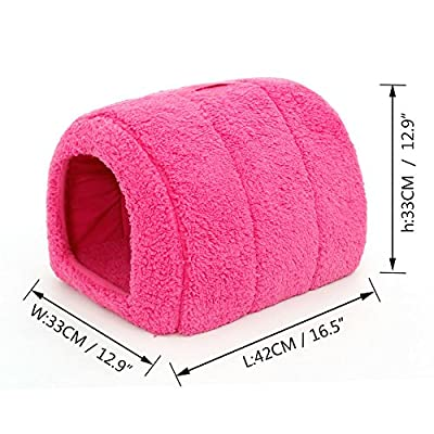 Pawz Road Pet Kennel Cozy Dog Cat Puppy bed Durable House 5 Colors to choose