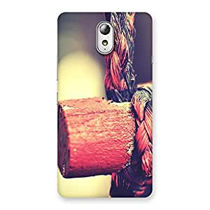 Special Rope on Bamboo Back Case Cover for Lenovo Vibe P1M
