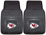 FANMATS 8899 NFL Kansas City Chiefs Front Heavy Duty Vinyl Car Mat - 2 Pieces at Amazon.com