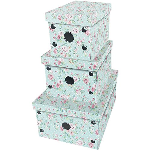 rose-print-collapsible-storage-boxes-set-of-3