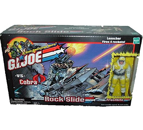 G.I Joe Rock Slide with Frostbite