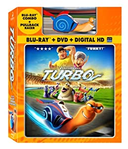 Turbo (Blu-ray / DVD Combo + Toy Racer)