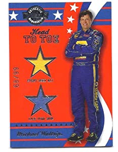 MICHAEL WALTRIP 2008 Press Pass Wheels American Thunder Head to Toe Event-Used Hat... by Wheels American Thunder