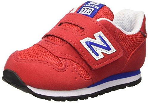 New Balance NBKV373RDI Scarpe Standing Baby Bambino, Rosso (Red Navy M), 22 1/2