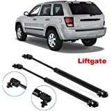Partsam 2 Pcs Gas Charged Liftgate Lift Support 55394323AA For 2005-2008 Jeep Grand Cherokee