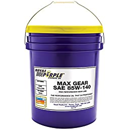 Royal Purple 05303 Max Gear 85W-140 High Performance Synthetic Automotive Gear Oil - 5 gal.