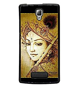 Lord Krishna 2D Hard Polycarbonate Designer Back Case Cover for Lenovo A2010