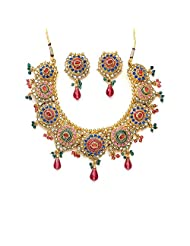Xcite Vibrant Multicoloured Necklace Set - XNS124