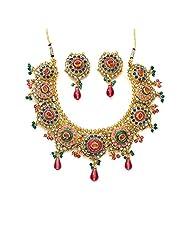 Xcite Vibrant Multicoloured Necklace Set - XNS124