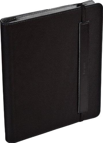 Targus Truss Nylon Case/Stand for Apple iPad 16GB, 32GB, 64GB WiFi + 3G, iPad 1, iPad 2 - Black/Gray (THZ03404US)