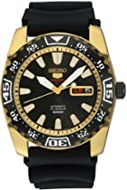 Seiko 5 Automatic Rose Gold-tone Mens Watch SRP170