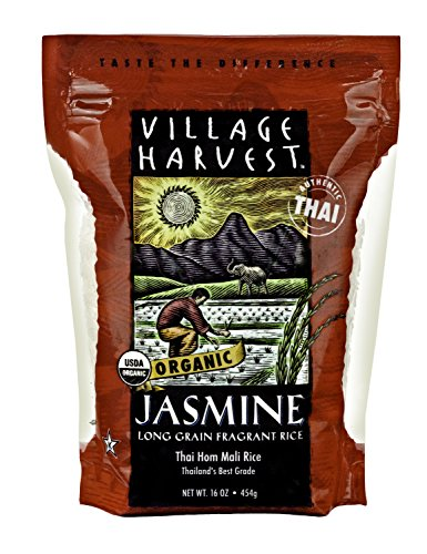 Village Harvest Organic Thai Jasmine White Rice, 16 Ounce (Jasmine White Rice Organic compare prices)