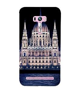 ifasho Designer Phone Back Case Cover Asus Zenfone Selfie ZD551KL ( Running Horse Sunset Shadow )