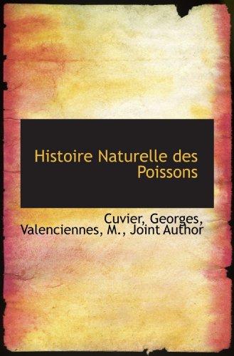 Histoire Naturelle des Poissons