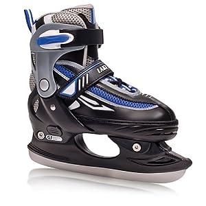 Lake Placid Metro Boy's Adjustable Figure Ice Skate (Large (6-9))