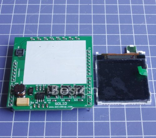 Shanhai Color Image Lcd Shield For Arduino