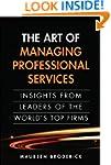 The Art of Managing Professional Serv...
