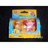 Zhu Zhu Pets Mini Mr Squiggles and Jilly (pink)