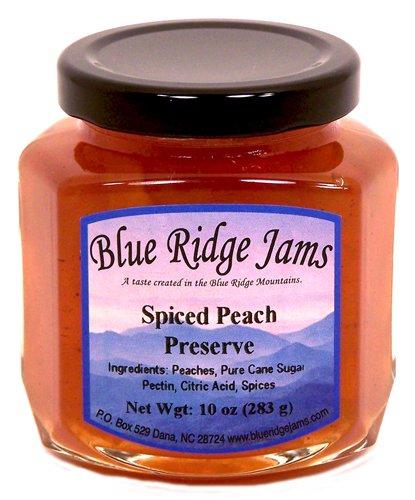 Spiced Peach Preserves, Set of 3 (10 oz Jars)