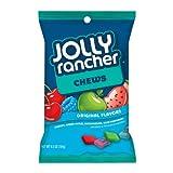 Jolly Rancher Fruit Chews (Cherry, Watermelon, Blue Raspberry & Green Apple), 6.5-Ounce Bags (Pack of 12) ~ Jolly Rancher