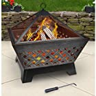 Landmann 25282 Barrone Fire Pit with Cover