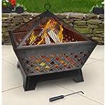 Landmann 25282 Barrone Fire Pit with...