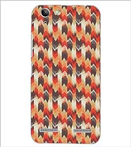 PrintDhaba Pattern D-5394 Back Case Cover for LENOVO VIBE K5 (Multi-Coloured)