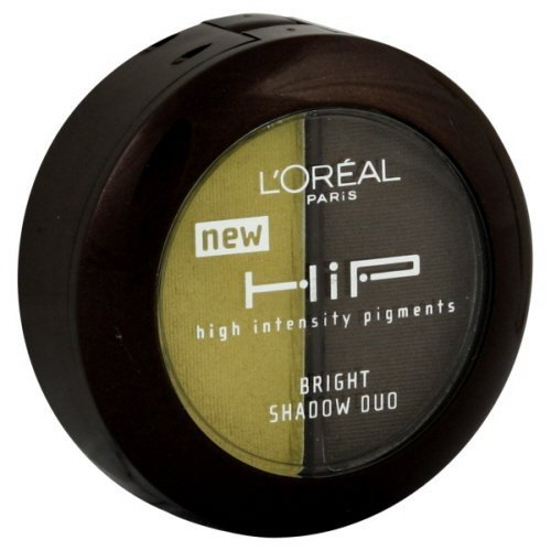 L'Oreal Paris HIP High Intensity Pigments Bright Shadow Duo, Riotous 328 (2-Pack)H.I.P Eyeshadow is a concentrated eyeshadow duo formulated with high intensity pigments that do not fade when applied to skin. Compact includes mirror and shadow applicator sponge. Discover the secret for bold, bright color for high impact eyes.