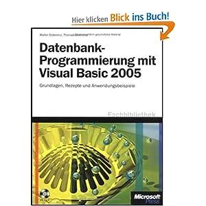 eBook Cover für  Datenbank Programmierung mit Visual Basic 2005