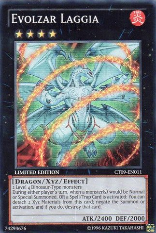 Yu-Gi-Oh! - Evolzar Laggia (Ct09-En011) - 2012 Collectors Tins - Limited Edition - Super Rare front-916161