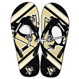 Pittsburgh Penguins Unisex Big Logo Flip Flop X-small at Amazon.com