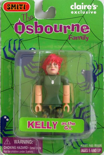 SMITI Osbournes Halloween - 3 inch GI Kelly (red hair) - 1