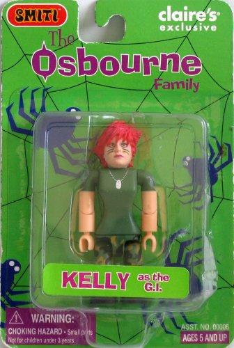 SMITI Osbournes Halloween - 3 inch GI Kelly (red hair)