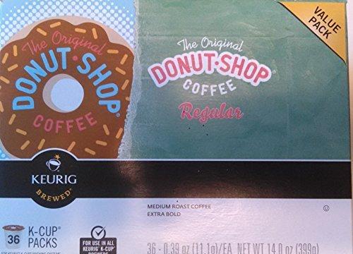 Donut Shop Keurig Regular K-Cup Coffee, 36 ct (Keurig Donut Shop Regular compare prices)